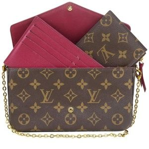 Louis Vuitton Pochette Felicie Chain Wallet